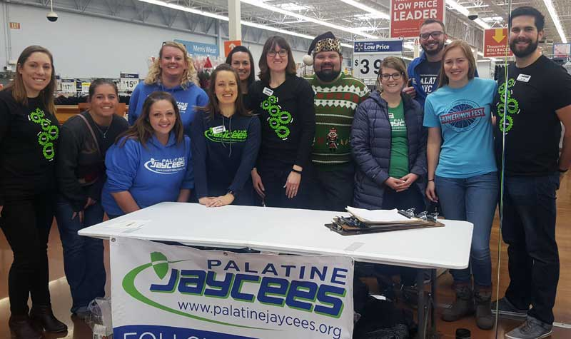 Palatine Jaycees 2018 Holiday Shopping Spree