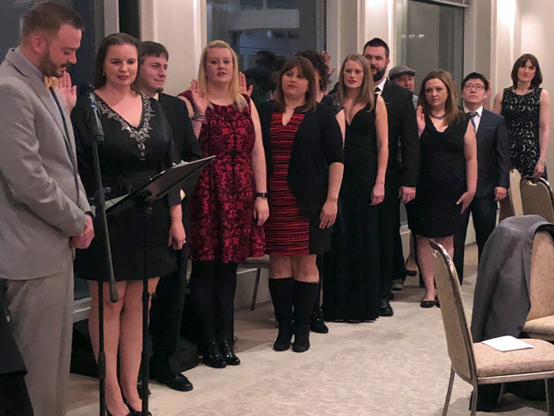 2019 Board Installed at Annual Banquet